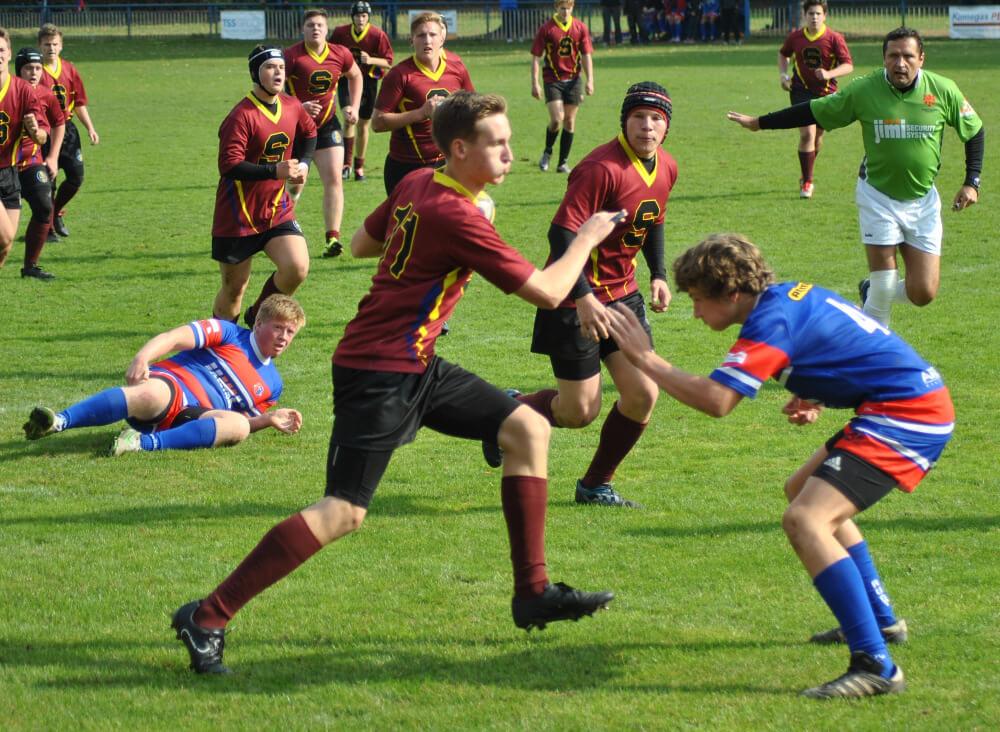 Sobotní zápas U18 ve Vyškově
