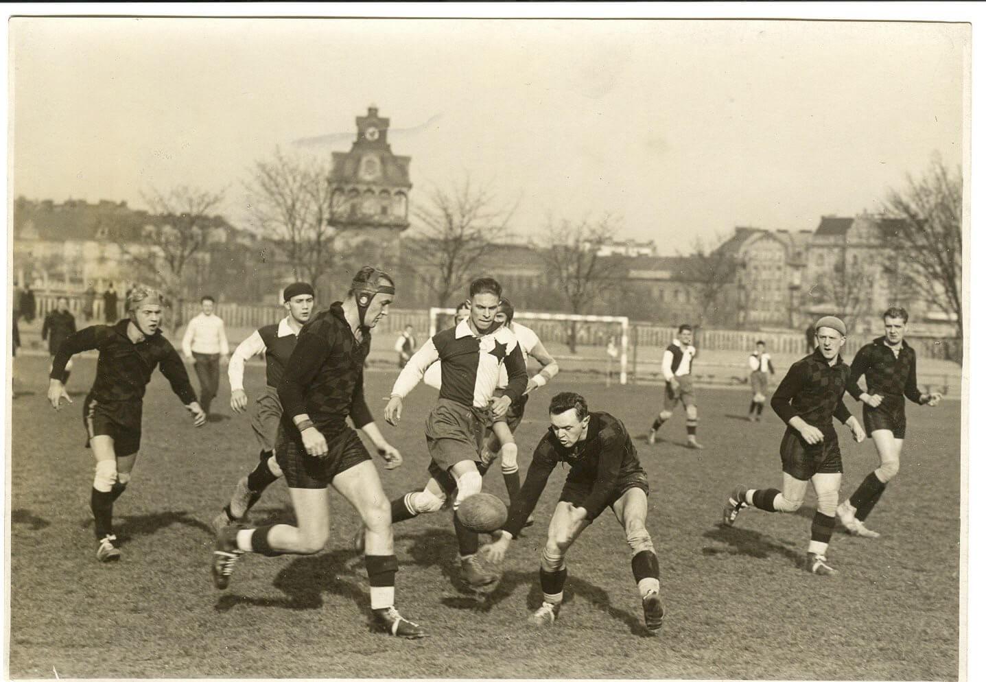 Dnes slaví Rugby Club Sparta 90 let