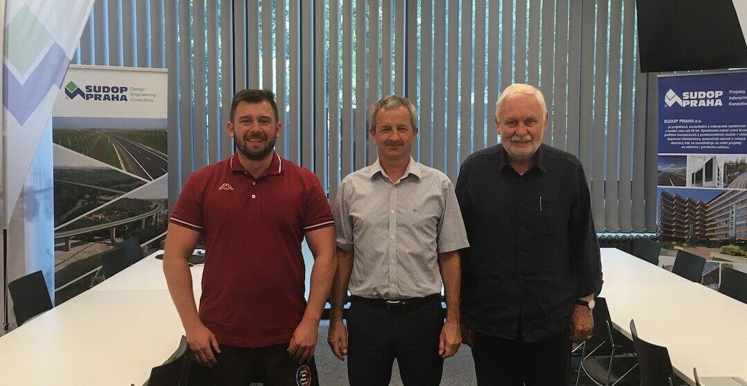 SUDOP Praha a.s. je novým partnerem RC Sparta