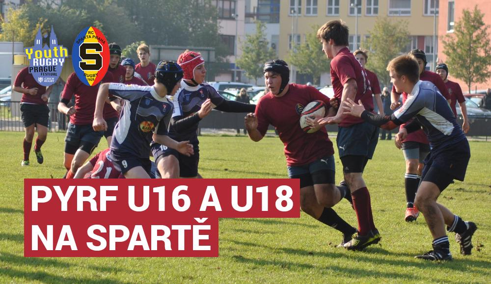Na Spartě se odehraje turnaj PYRF v kategoriích U16 a U18